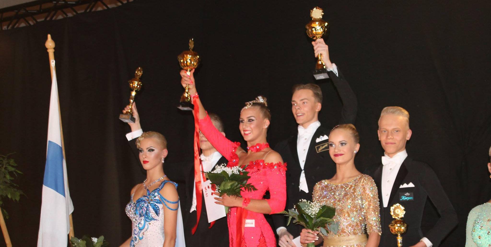 Jere Hakalahti ja Veera Korpinen , Suomen Mestarit 2016