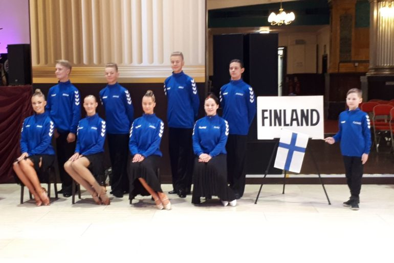 Terveiset junior Blackpoolista 2018 , Team Finland