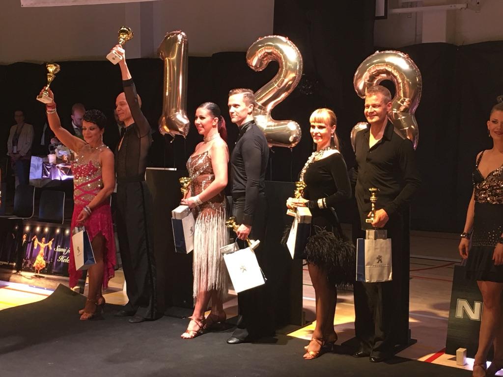 Kilpailutuloksia, Ikäkausimestaruuskilpailut 2018 TanssiDans ry